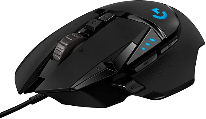 Logitech G502 HERO High Performance Wired Gaming Mouse HERO 25K Sensor 25600 DPI RGB Adjustable Weights 11 Programmable Buttons OnBoard Memory PC  Mac Online at Kapruka | Product# gsitem2578