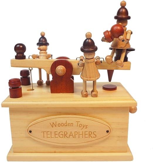 La caja de música caja de música de madera de marionetas impresora ...