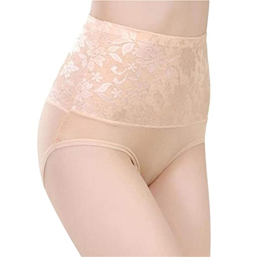 0985ab3cc87 Image Unavailable. Image not available for. Color  Women Modal Panty High  Waist Breathable Trigonometric ...