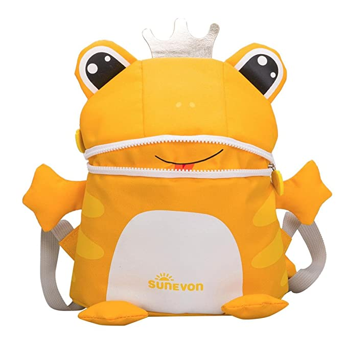 School Bag for Kids,iOPQO Toddler Baby Girls Boys Cartoon Frog Animal Backpack: Amazon.co.uk: Luggage