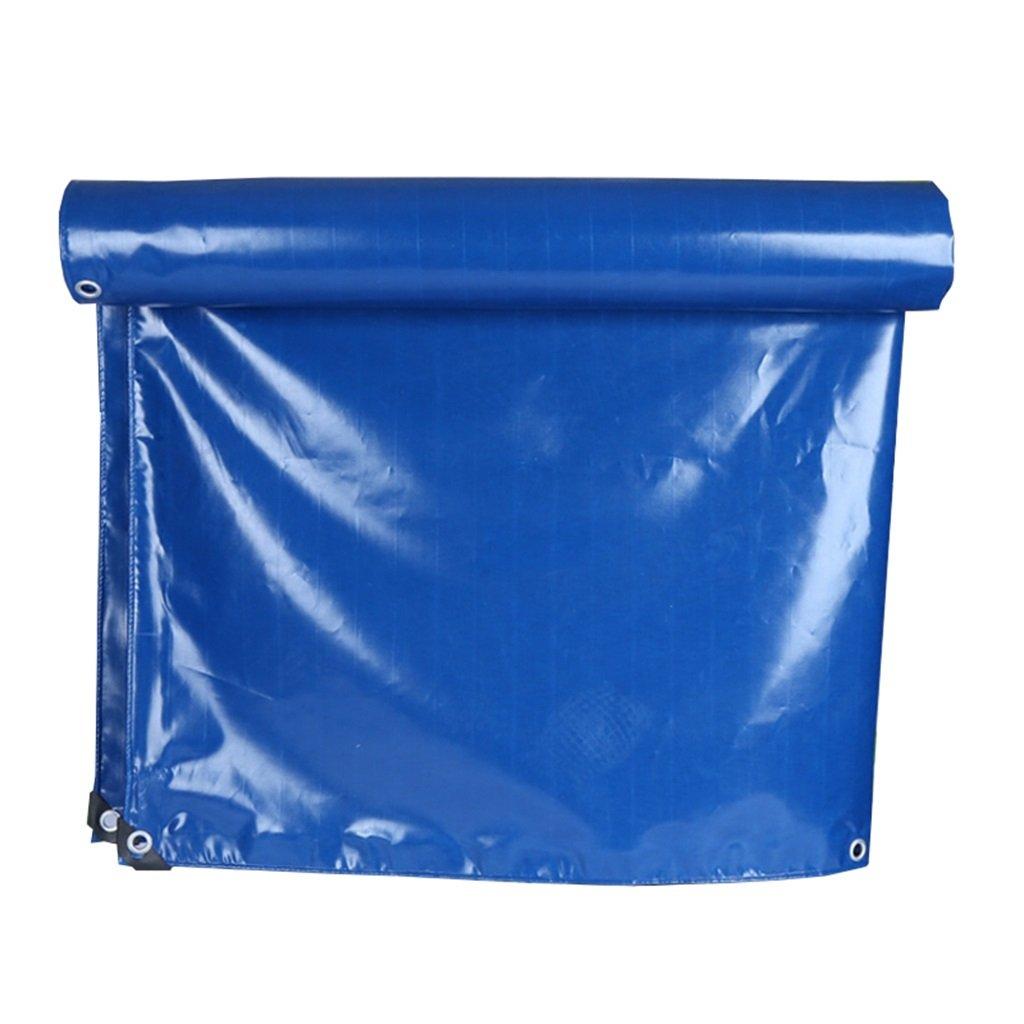 HGNA-Zeltplanen Zelt Zubehör Plane Blaue Plane-Wasserdichte Hochleistungs-Plane-Blatt-Stärke 0.3mm, 350g / m² - 100% wasserdicht und UV-geschützt, 17 Größe vorhanden Idee für Camping Wandern