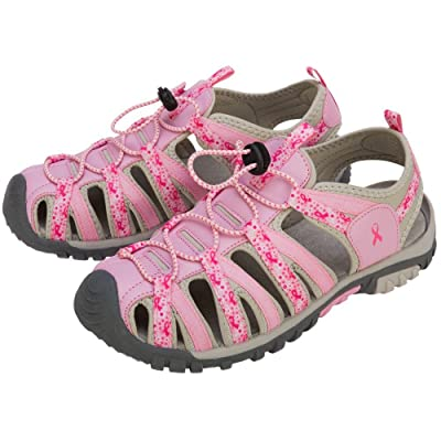 Amazon.com | GreaterGood Path to Pink Sport Sandals | Sandals