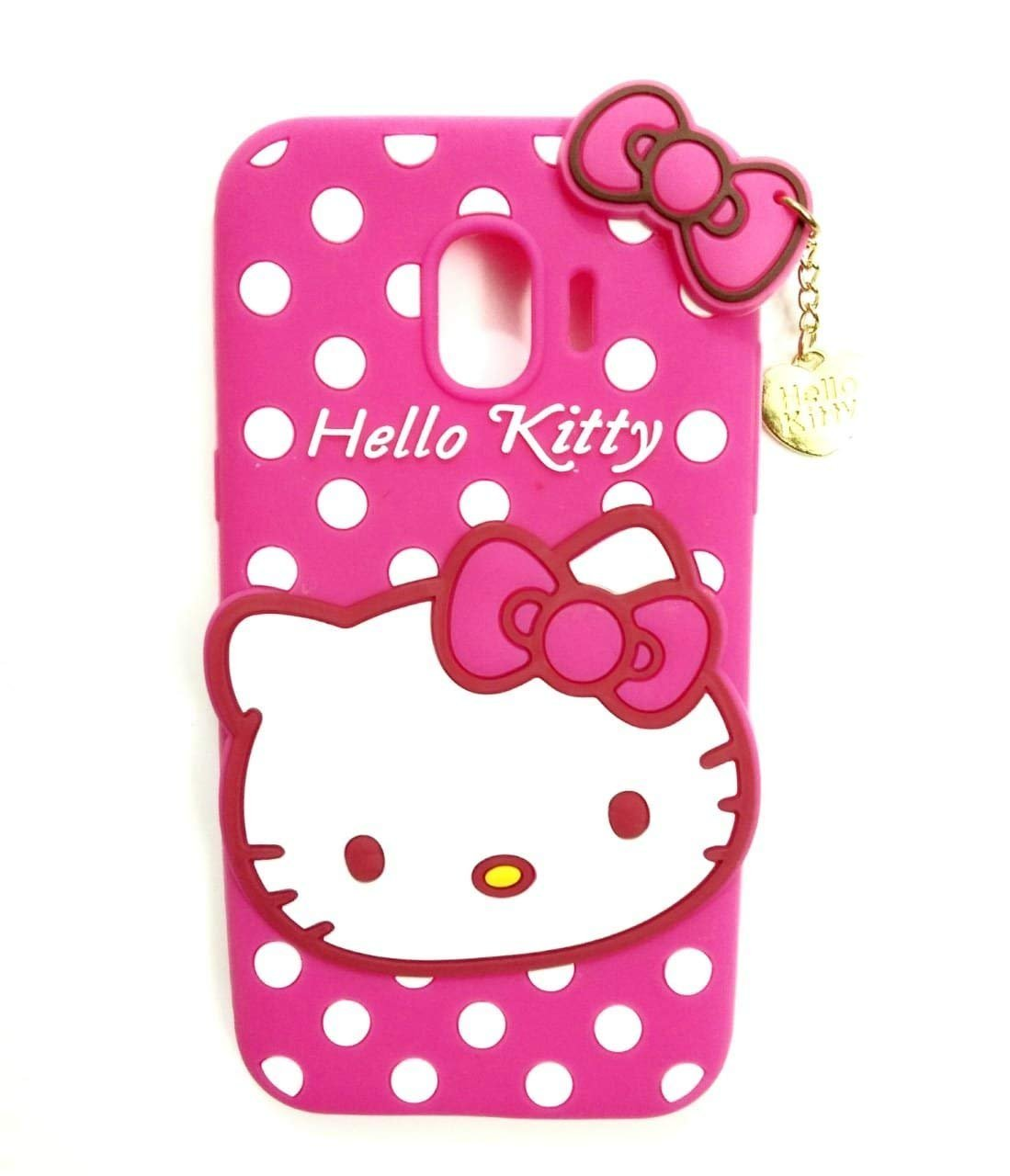 Mezmo 3d Cute Hello Kitty Silicone With Pendant Back Amazon In Electronics