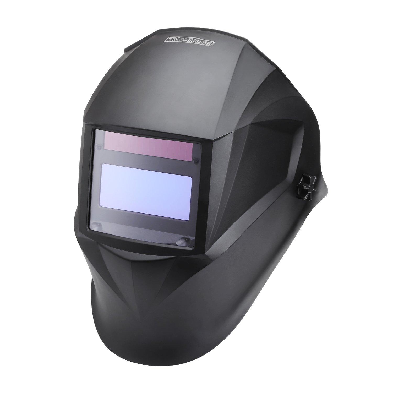 Tacklife PAHD Casco de Soldadura de Oscurecimiento Automático Máscara de Soldadores Caretas