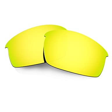 HKUCO Mens Replacement Lenses For Oakley Ten X Blue/Black/24K Gold Sunglasses zZreIDZveg