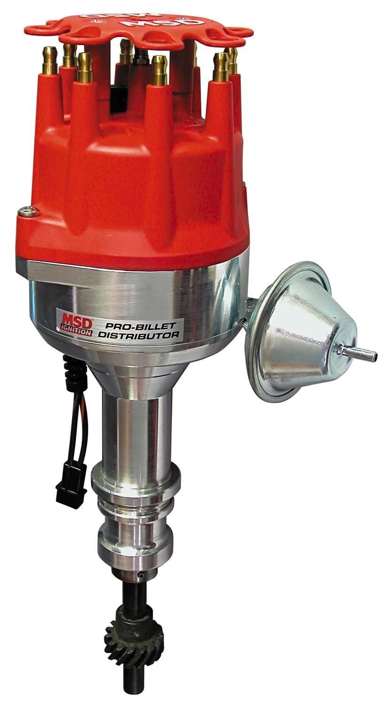 MSD 84781 Street Steel Gear Pro-Billet Distributor