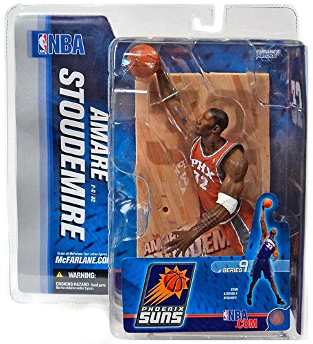NBA Series 9: Phoenix Suns #32 Amare Stoudemire 2, Orange Jersey