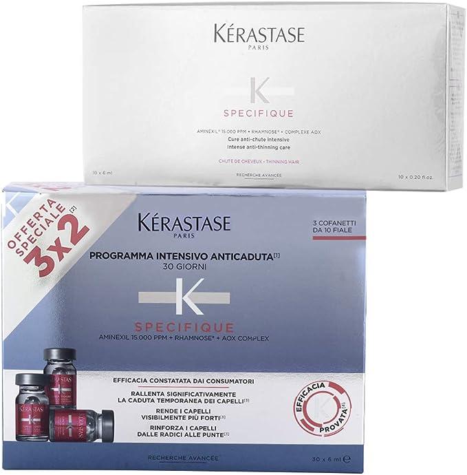 kerastase aminexil gl m trattamento intensivo anticaduta 10 fiale