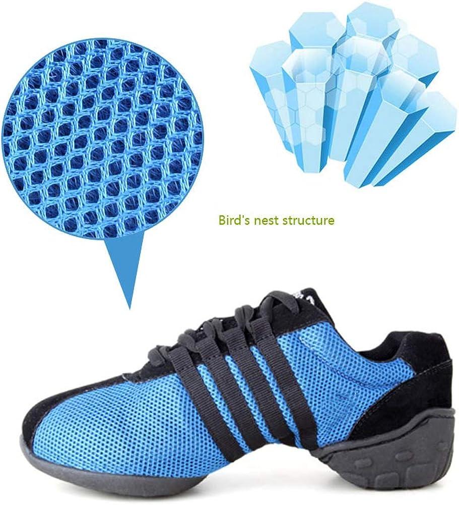 HIPPOSEUS Confortable Respirant Femmes Sport Chaussures De Gymnastique Moderne Danse Fitness R/ésistant /À lusure Anti-Slip Chaussures De Danse