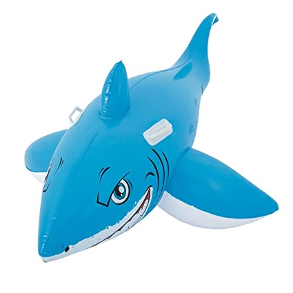 Dabuty Online, S.L. Flotador Hinchable Tiburon para Playa o Piscina Tamaño 183 x 102 cm