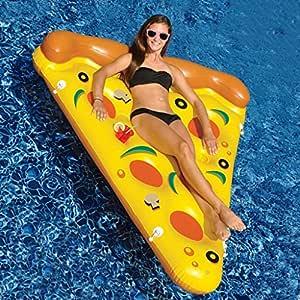 Mustbe strong gigante Pizza Pool Party flotador balsa, Floatie ...