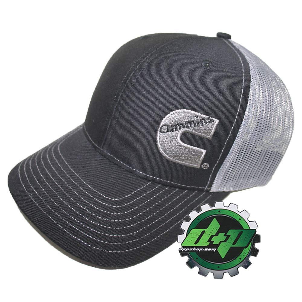 Diesel Power Plus Dodge Cummins Richardson Ball Cap hat Black w//Gray Summer mesh snap Back