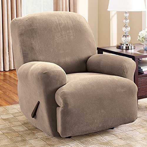 Sure Fit Lift Recliner Slipcover, Medium, Taupe by Surefit by Surefit