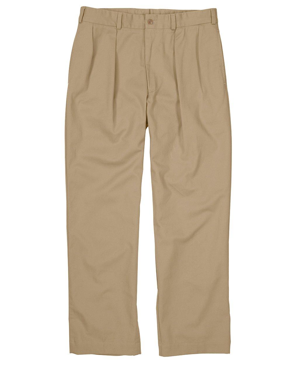 Bill's Khakis M2 Pleated Style (40, Khaki)