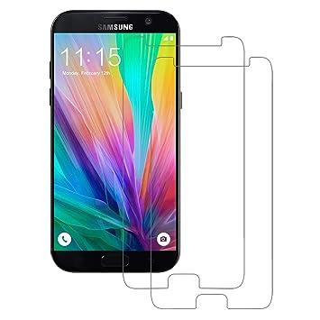 POOPHUNS Cristal Templado Samsung Galaxy A5 2017 [2-Unidades ...
