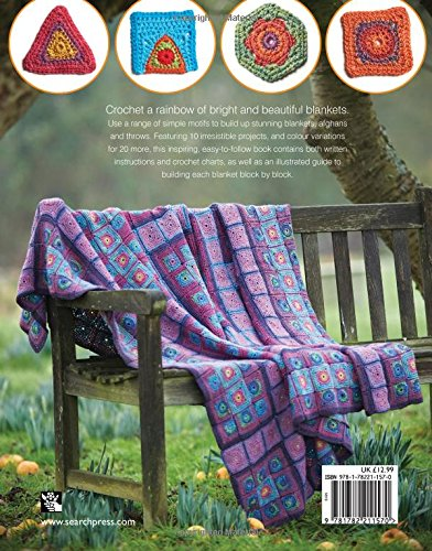 Review Rainbow Crocheted Blankets: A