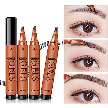 Amazon.com: Lápiz líquido para cejas de Henna, impermeable ...