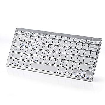 TopMate KM1101 Mini Teclado Bluetooth PC Suite para Win/10/8/7/Vista/XP y Mac Compatible Macs, MacBook Pro, MacBook Air (QWERTY): Amazon.es: Electrónica