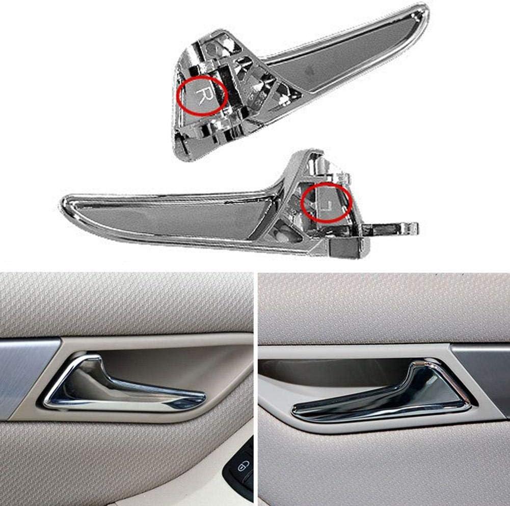 Innent/ürgriffe F/ür Verchromtes Auto F/ür Mercedes-Benz A-Klasse W169 B-Klasse W245 Verkleidungsstange Links Rechts Vorne Hinten