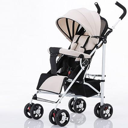XUERUI Silla De Paseo Plegable De Carro De Bebé Comodidad Cómoda ...