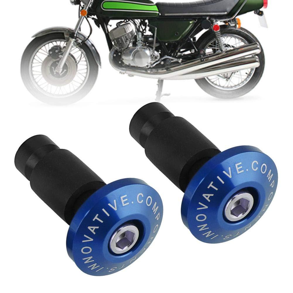 per la maggior parte delle moto con manubri da 22 mm di diametro. 1 paio di tappi universali per manubrio moto KIMISS