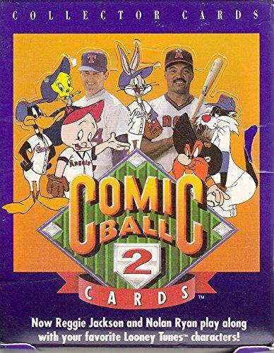 Nolan Ryan Ball (1991 Upper Deck Comic Ball 2 FACTORY SEALED WAX BOX 36 Packs Looney Tunes REGGIE JACKSON NOLAN RYAN)