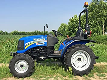 Mini tractor agrícola homologado para uso en carretera, modelo SL-26: Amazon.es: Bricolaje y herramientas