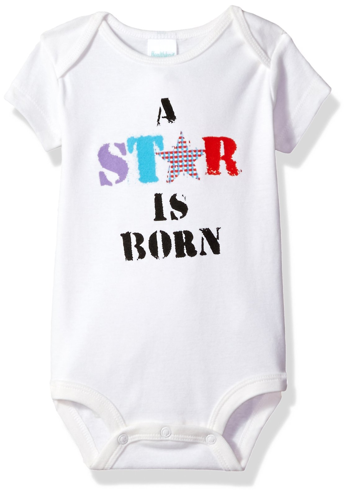 """Attitude Rompers """"A Star is Born"""" Baby Romper"""