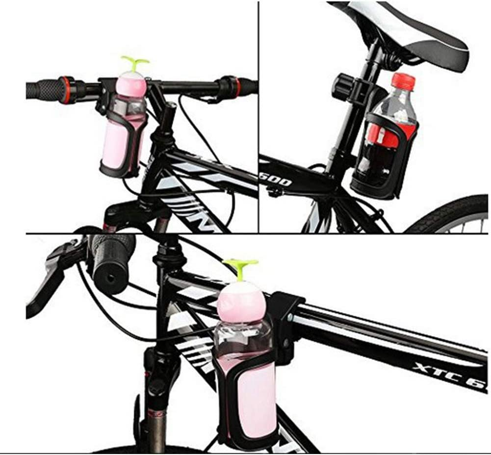 Cup-Halter f/ür Kinderwagen Kinderwagen-Cup-Halter-Universalfahrrad Kessel Becherhalter Fahrrad Flaschenkinderwagen Anti-Rutsch-Getr/änkehalter