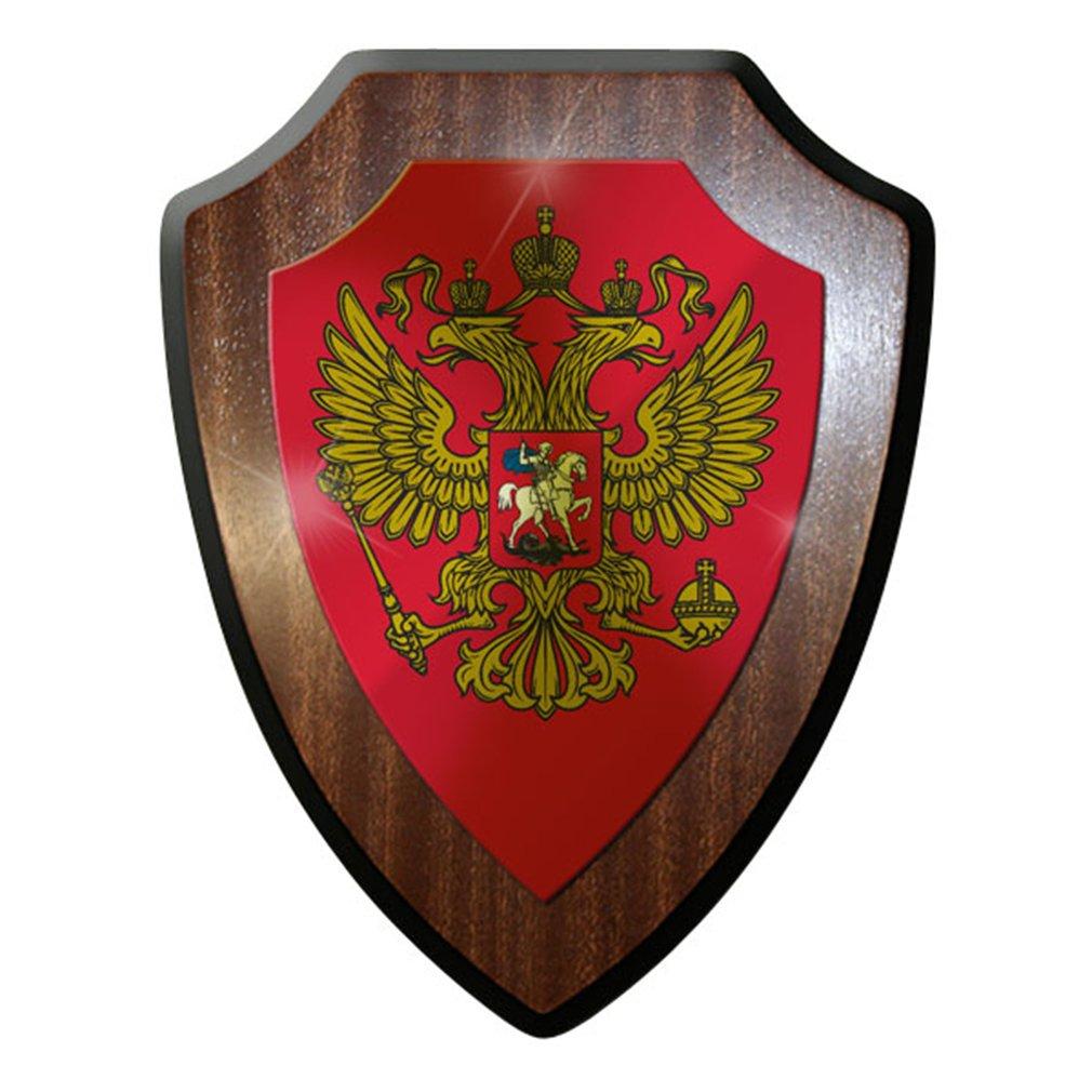 Escudo Cartel/pared Placa/Escudo - federación rusa Rusia ...
