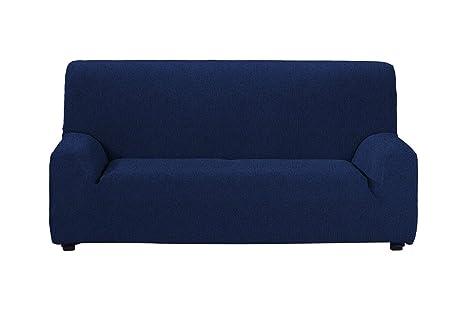 Casa Textil Fundas de Sofa, Azul, Tres Plazas