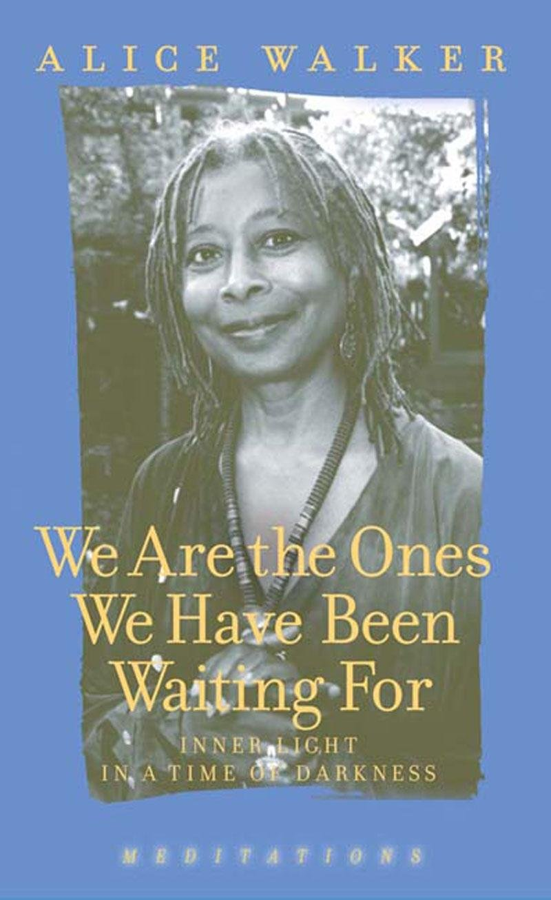 com we are the ones we have been waiting for inner light com we are the ones we have been waiting for inner light in a time of darkness 9781595581372 alice walker books
