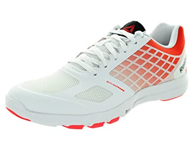 Women's Quantum Leap White/Neon Cherry/Black Training Shoe 8.5