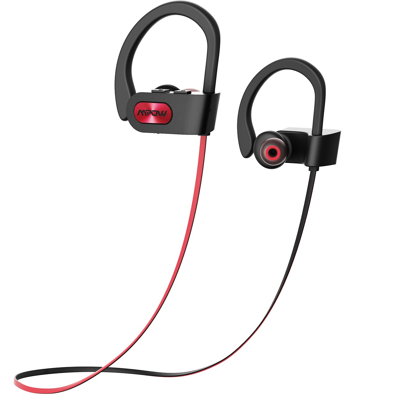 Auricolari Sport Mpow Auricolari Bluetooth IPX7 Impermeabile Bluetooth 4.1 Cuffie Sport, In-Ear Auricolari Sport AptX, Cuffie Sport Bluetooth A2DP Impermeabile, CVC 6.0 Cancellazione del Rumore, Auricolari Sport Bluetooth con EVA Borsa per iPhone 7, 7 Plus, 6s, 6s Plus, 6, 6 Plus, Samsung, Huawei, Sony ed Altri Smartphone