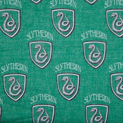 Harry Potter House Slytherin Green Viscose Scarf