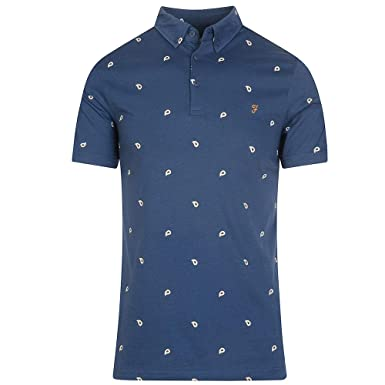 Farah - Polo - Manches Courtes - Homme Bleu Bleu  Amazon.fr ... 388c73a40597