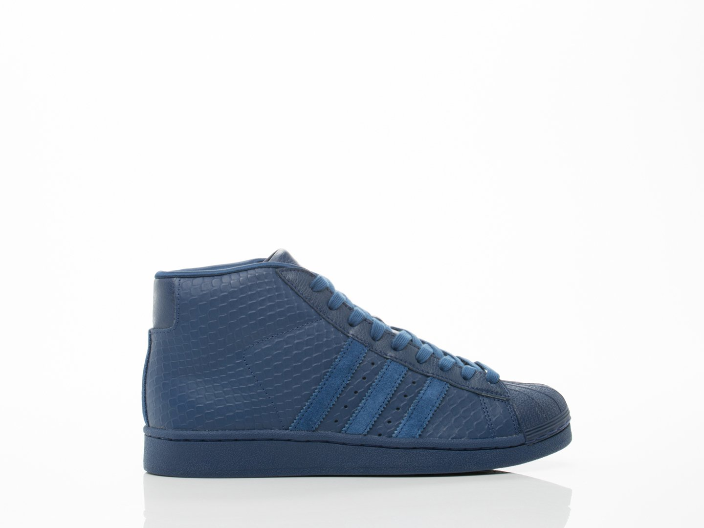 adidas Pro Model Snakeskin Men's Shoes Oxford Blue s85959-7.5