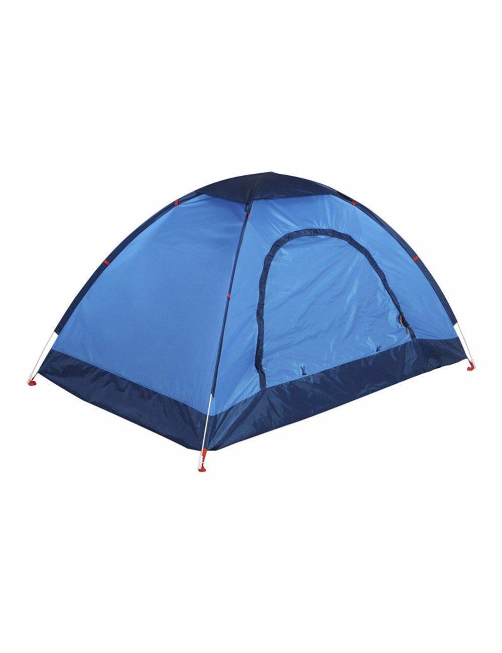 SJQKA-Zelt Outdoor 2-3 Personen, Single Level Posting, Campingausrüstung, das Camp ist voll automatische Abwerfen,