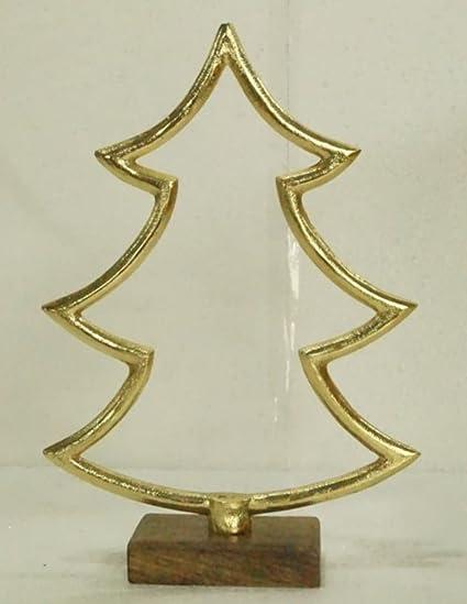 Contemporary Christmas Tree.Amazon Com None Gold Contemporary Christmas Tree On Wooden