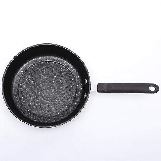 TTKJ Wok Hogar Cocina Pan Mini Piedra Plancha Wok ...