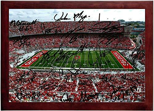 (OSU Stadium Autograph Replica Super Print - Landscape - Framed)