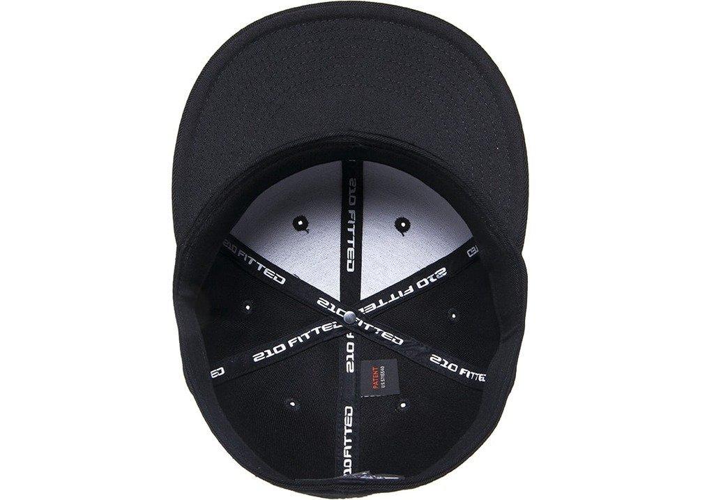 Flexfit Premium Flatbill Cap – Fitted 6210 - Small/Medium (Black) by Flexfit (Image #3)