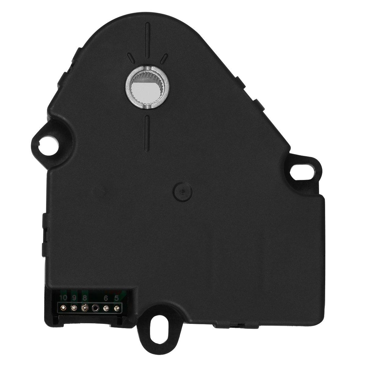 Hvac Blend Door Actuator For 2008 2012 Chevy Malibu Nissan Armada Heater 2005 2010 Pontiac G6 2007 2009 Saturn Aura Replaces 604 135 15844209