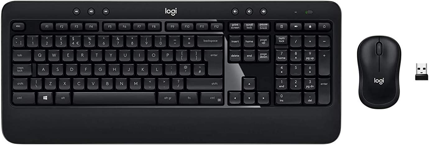 Logitech Advanced Combo Wireless Keyboard and Mouse - N/A - ESP - 2.4GHZ - N/A - MEDITER