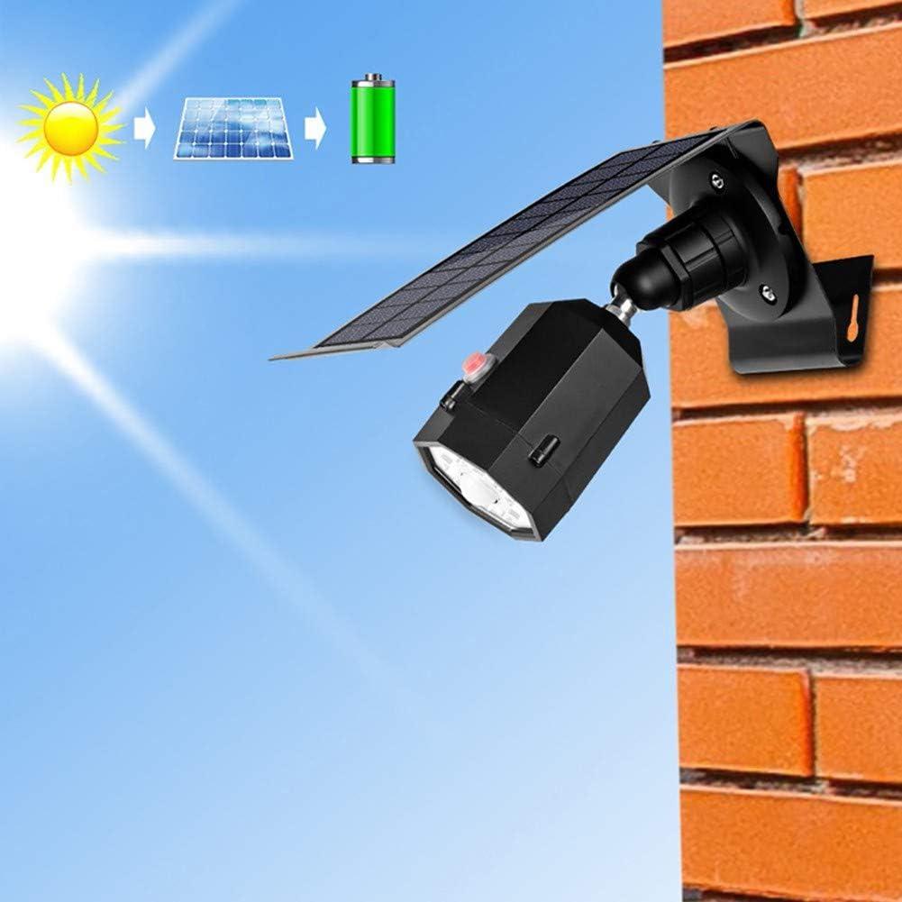 Z·Bling Solarleuchten Garten mit Bewegungsmelder außen Balkon 1400-Lumen 5W LED Flut- Spotbeleuchtung Außenlampe mit Bewegungsmelder LED, Aluminium Solarleuchten Außen Garten Black