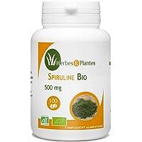 Herbes Et Plantes Spiruline Bio 100 Comprimés 500 mg