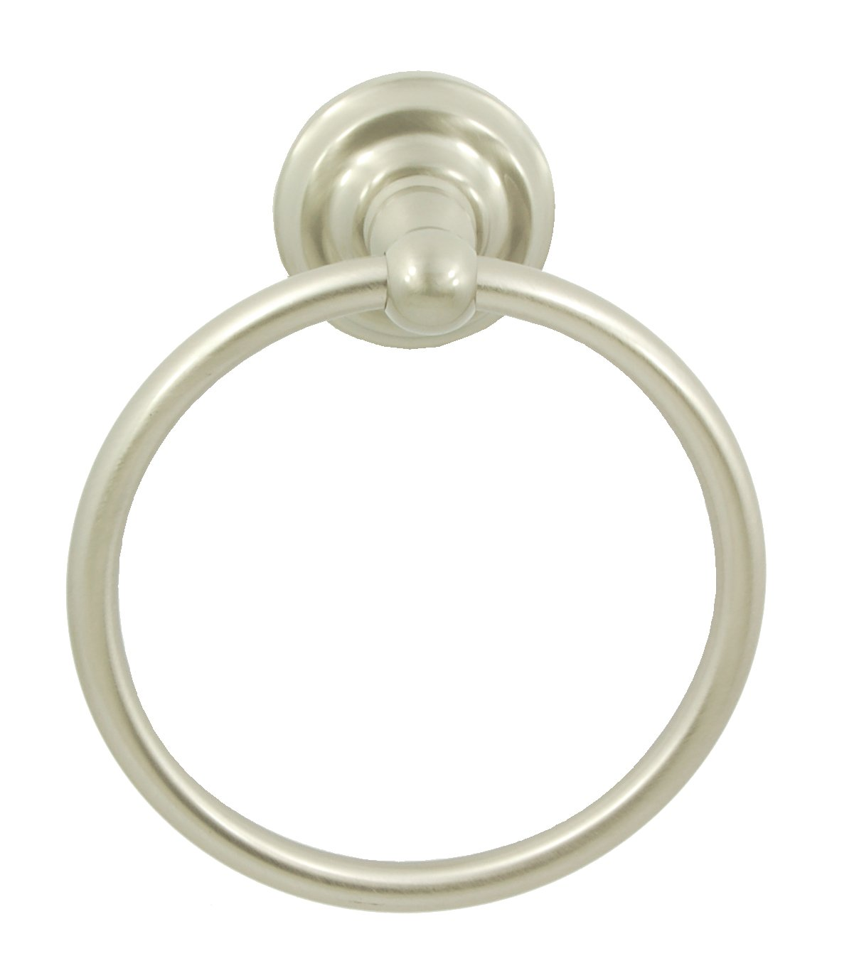 Better Home Products Dolores Park Towel Ring, Satin Nickel
