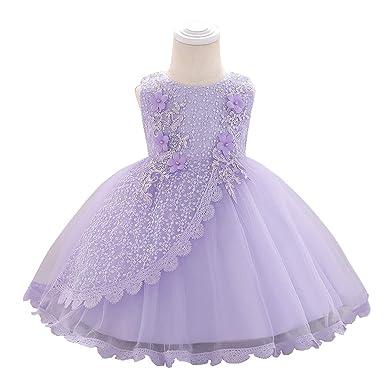 LADYLUCK Vestido Fiesta Niña Vestido De Princesa Vestido De ...