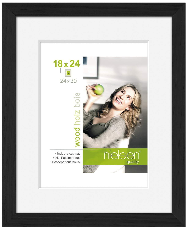 Amazon.de: Nielsen Apollo Bilderrahmen, Fotorahmen, Schwarz, 50 x 70 cm