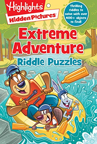Extreme Adventure Riddle Puzzles (HighlightsTM  Hidden Pictures® Riddle Puzzle Pads)